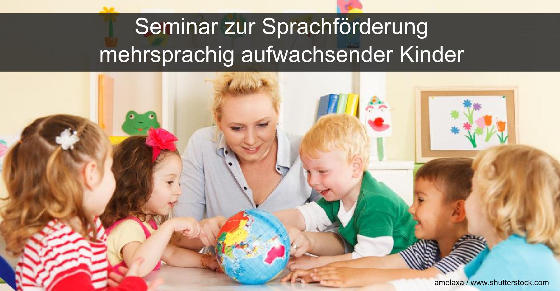 Gerade mehrsprachig aufwachsende Kinder benötigen oft eine zusätzliche Sprachförderung.