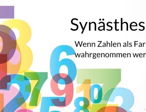 Synästhesie – Wenn die 8 rot (aus)sieht