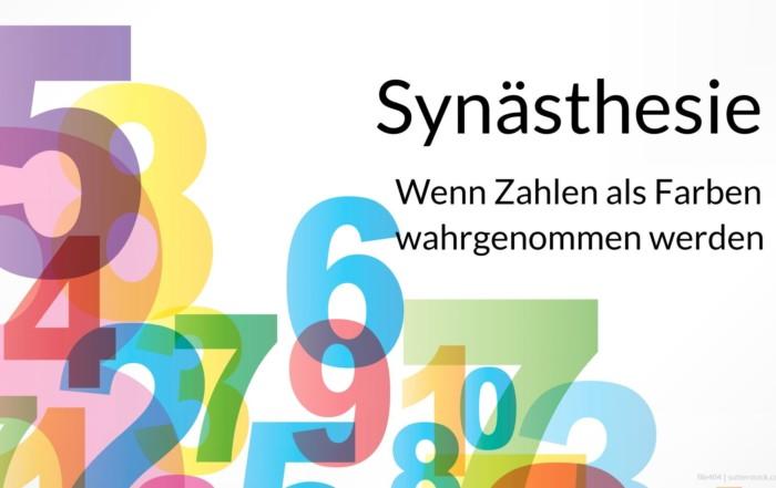 Synästhesie - Die gleichzeitige Aktivierung verschiedener Sinne